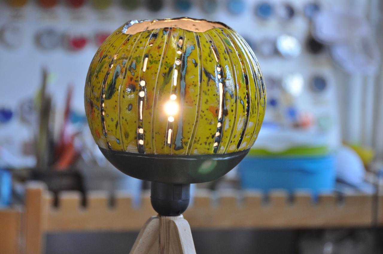 Lampe Keramik