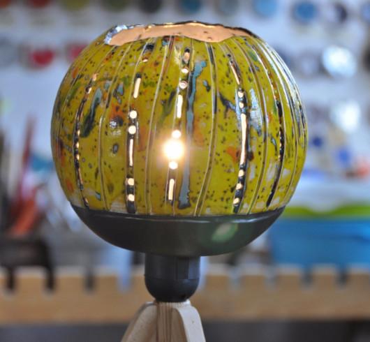 Keramiklampe selber machen
